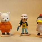 Chara Bank Trafalgar Law Bepo and Penguin