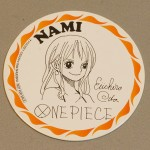 One Piece cardboard coasters Nami