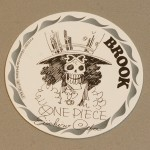 One Piece cardboard coasters Brook