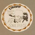 One Piece cardboard coasters Usopp
