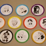 One Piece tin coasters full set