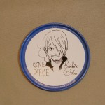 One Piece tin coasters Sanji