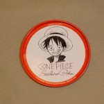 One Piece tin coasters Luffy
