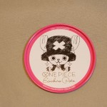 One Piece tin coasters Chopper
