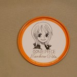 One Piece tin coasters Nami