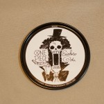 One Piece tin coasters Brook