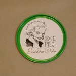 One Piece tin coasters Zoro