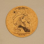 One Piece cork coasters Nami