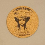 One Piece cork coasters Robin