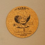 One Piece cork coasters Sanji