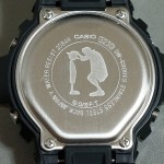 G-Shock watch back plate