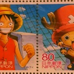 One Piece Stamps Luffy Chopper