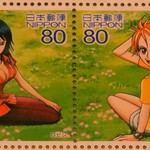 One Piece Stamps Robin Nami