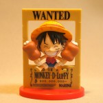 Wanted 3D poster Luffy