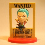 Wanted 3D poster Zoro