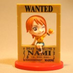 Wanted 3D poster Nami