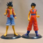 Luffy Style Son Gokou and Gokou style Luffy