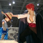 Shanks and Luffy