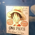 Sign from Oda sensei