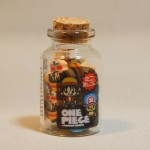One Piece mini erasers jar