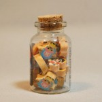 One Piece mini erasers jar side