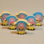 One Piece mini erasers - Mini Choppers