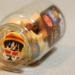One Piece mini erasers - Luffy in Jar