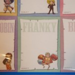 One Piece Post-it Book Robin Franky Brook