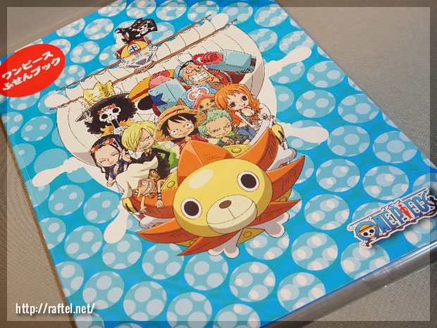 One Piece Post-it Book