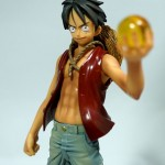 Luffy and Goku DX figures - Luffy ルフィ