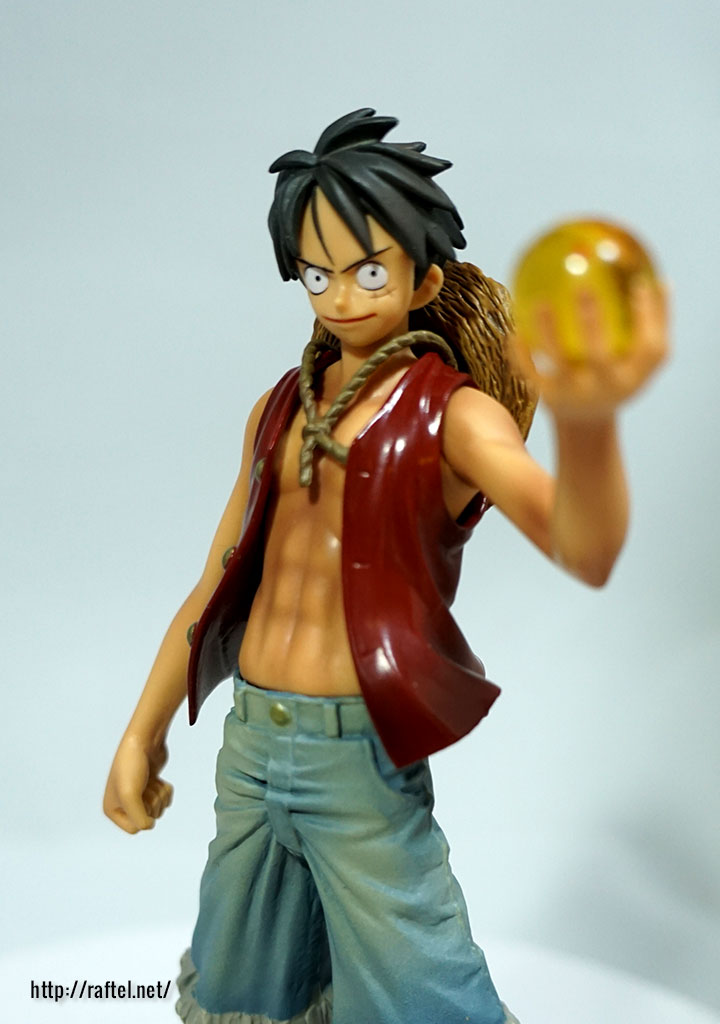 luffy and goku dx figures op dragonball kai collaboration