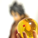 Luffy and Goku DX figures - Thumbnail ルフィと孫悟空のコラボ